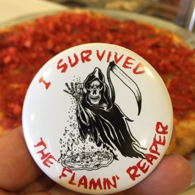I survived the flaming reaper